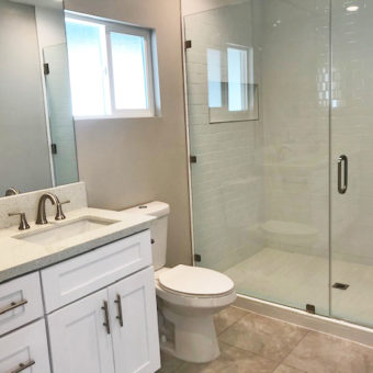 1309 S Mansfield after. Master bath